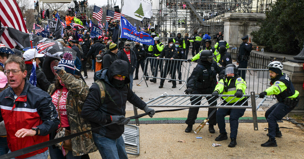 Biden Says U.S. Survived 'Existential Crisis' of Capitol Riot