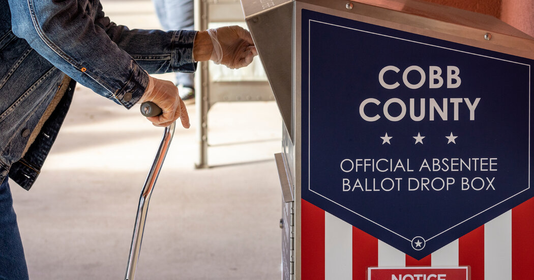 Judge Declines, For Now, to Block Parts of Georgia Voting Law