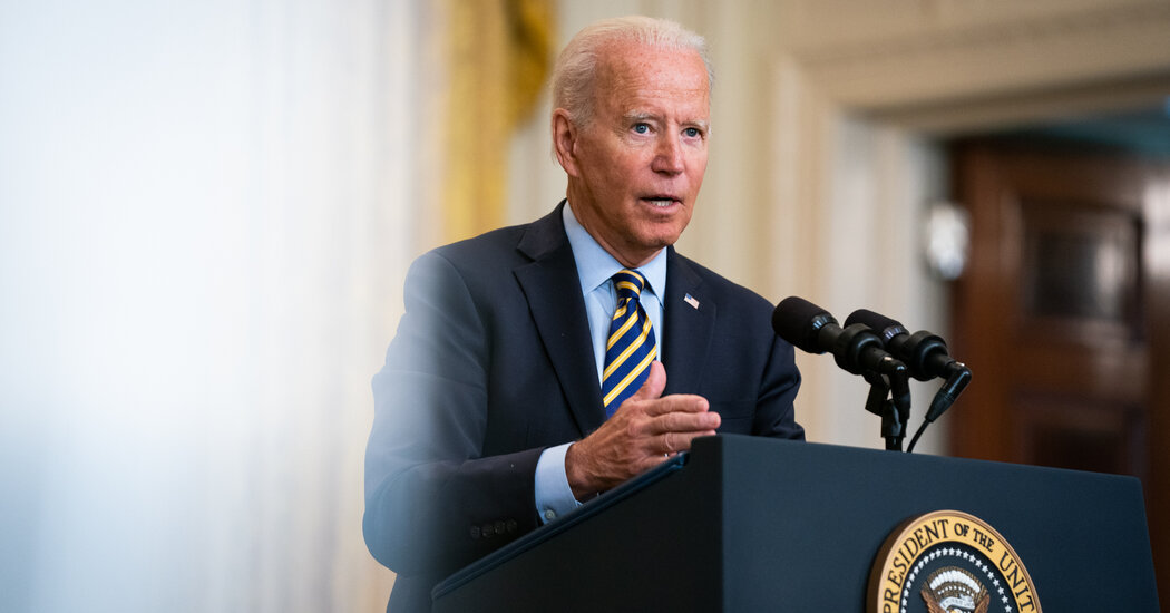 Biden Forecefully Defends U.S. Withdrawal From Afghanistan
