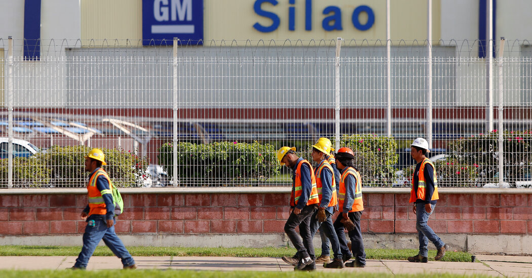 Mexico to Allow Union Vote at G.M. Plant After U.S. Complaint