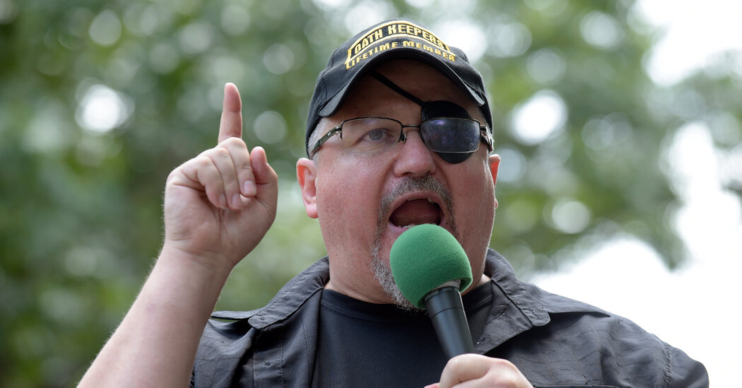 Oath Keepers Leader Sits for F.B.I. Questioning Against Legal Advice