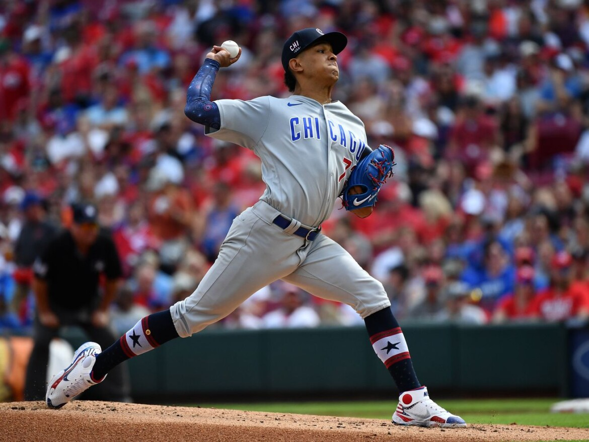Adbert Alzolay continues growth, maturation as a starter as Cubs fall to the Reds