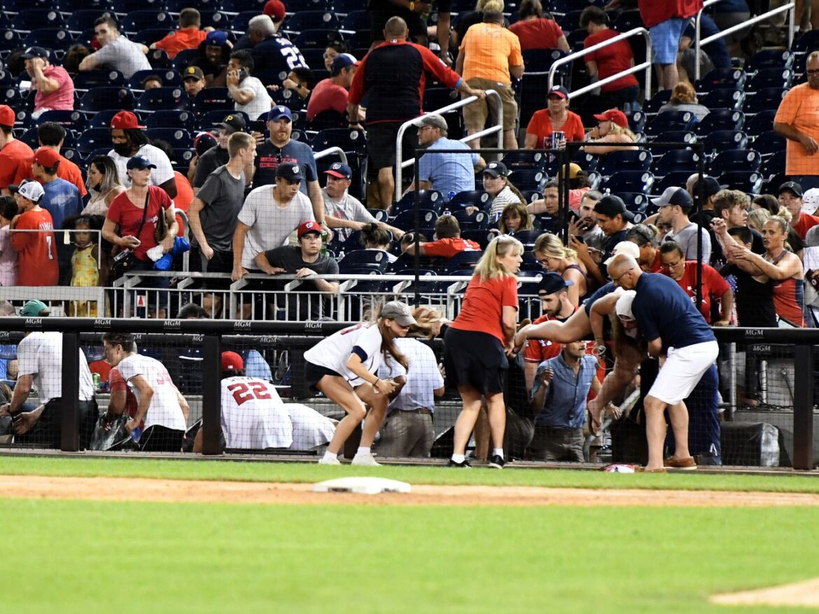 Padres-Nationals game suspended after shooting outside DC stadium