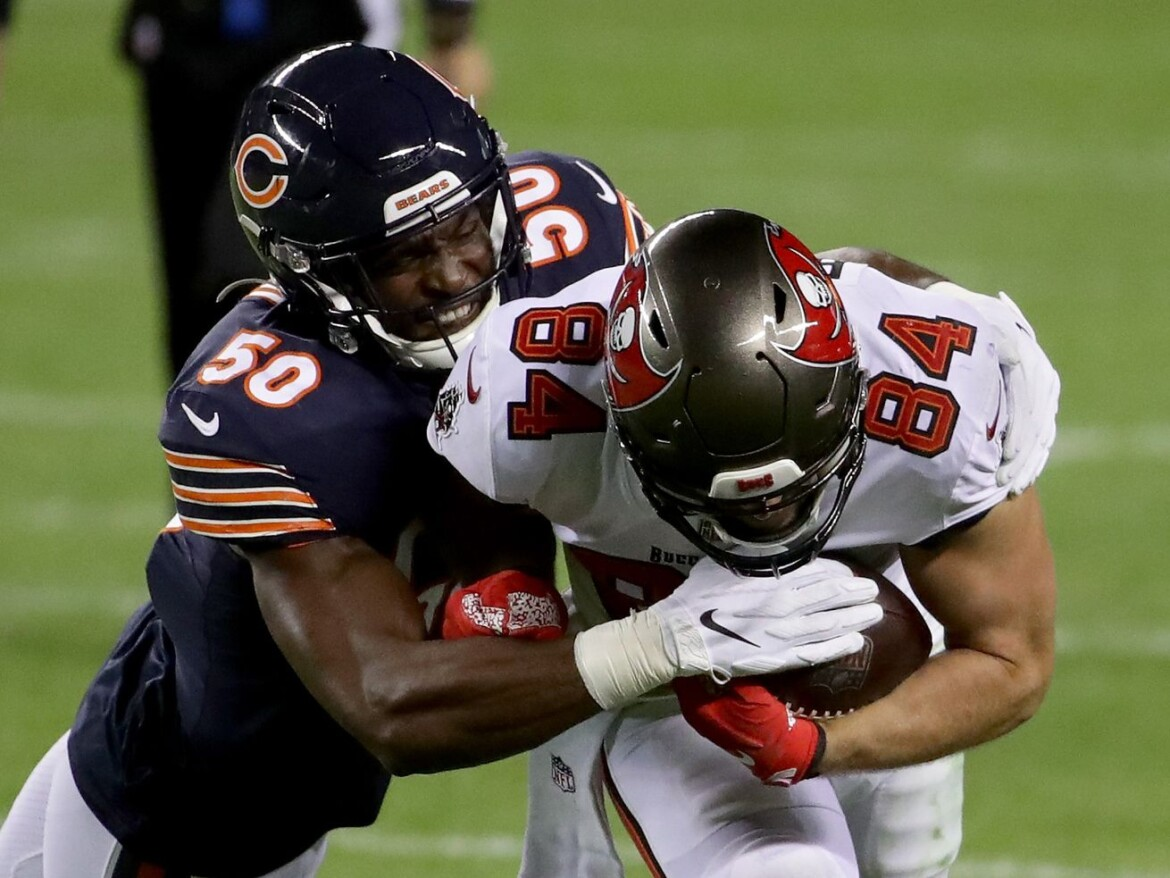 Former Bears linebacker Barkevious Mingo charged with indecency with child in Texas