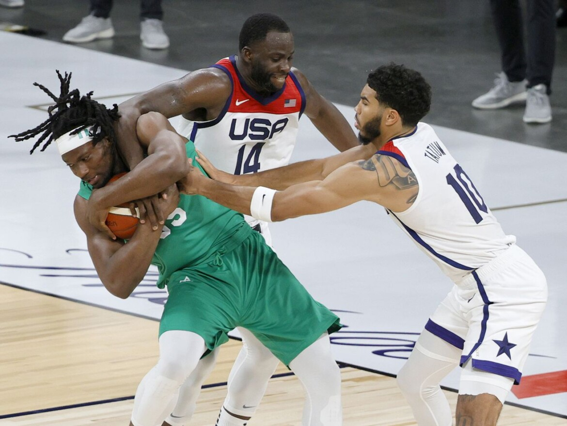 US falls to Nigeria in pre-Olympic opener