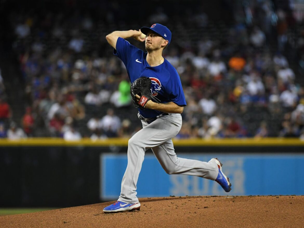 Cubs pitchers can't find command in 6-4 loss to the DBacks