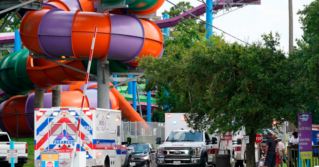Chemicals at Splashtown Water Park in Texas Sends 26 to Hospital