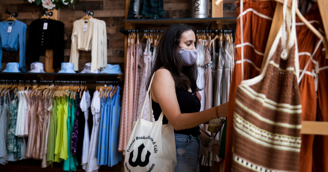 Wary and Weary, Los Angeles Largely Accepts Restored Mask Mandate
