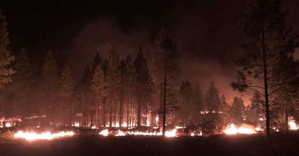 The Bootleg Fire Has Consumed More Than 360,000 Acres