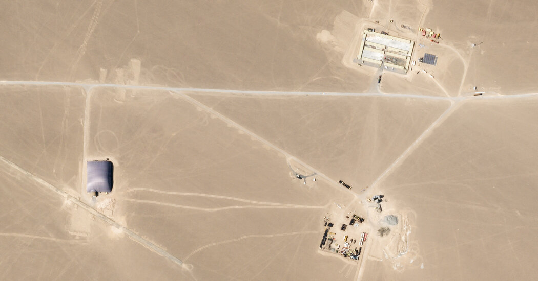 A 2nd New Nuclear Missile Base for China, and Many Questions About Strategy