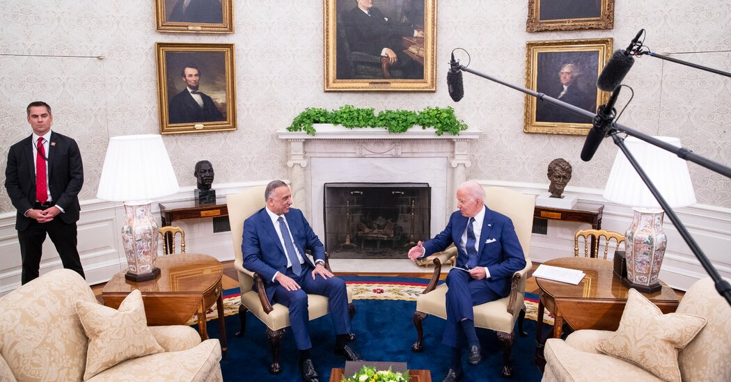 Biden Takes Two Paths to Wind Down Iraq and Afghan Wars