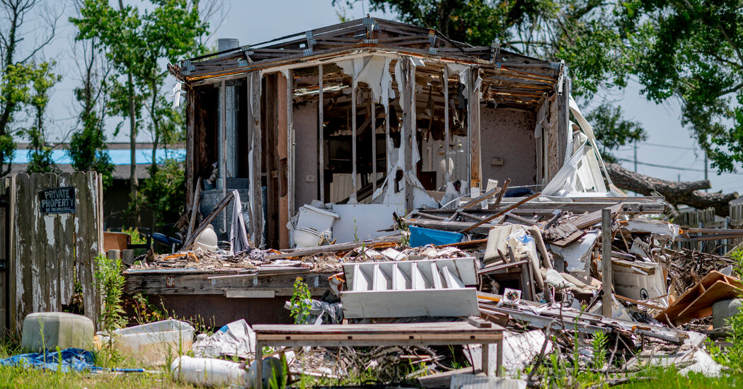 Devastated by Disasters, Lake Charles Is Still Waiting for Help