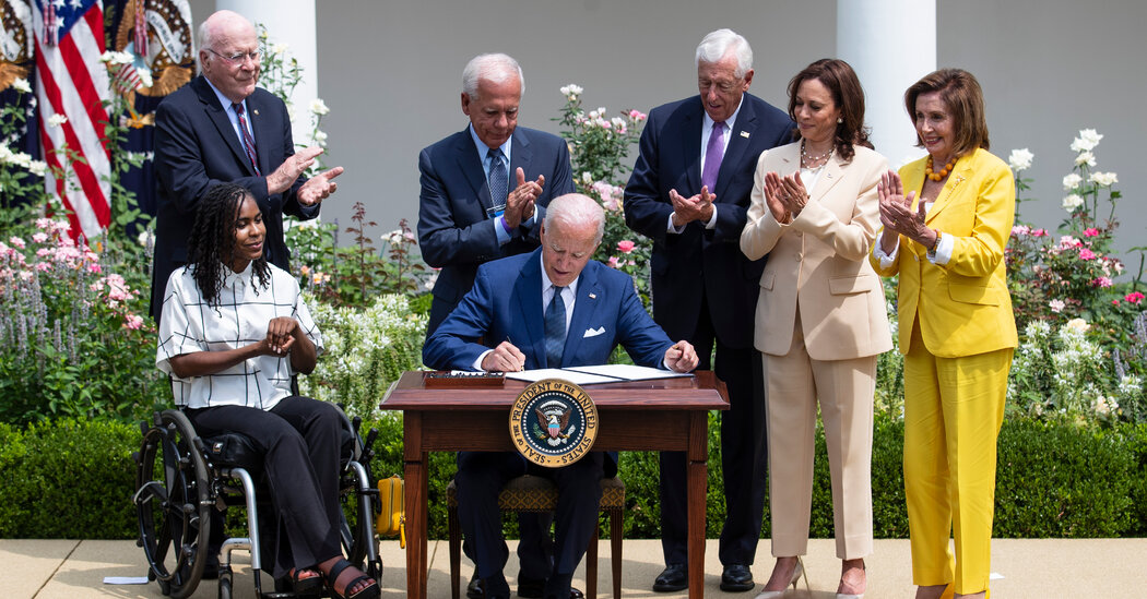 'Long Covid' Will Be Covered by Federal Disability Law, Biden Says
