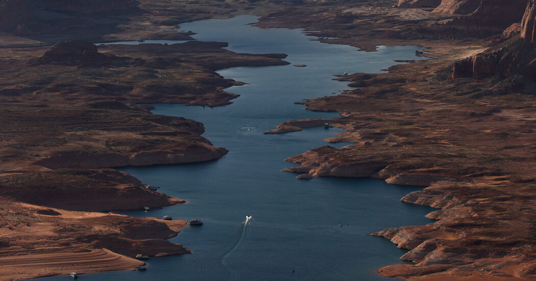 Lake Powell and Lake Mead Water Levels Drop to Historic Lows