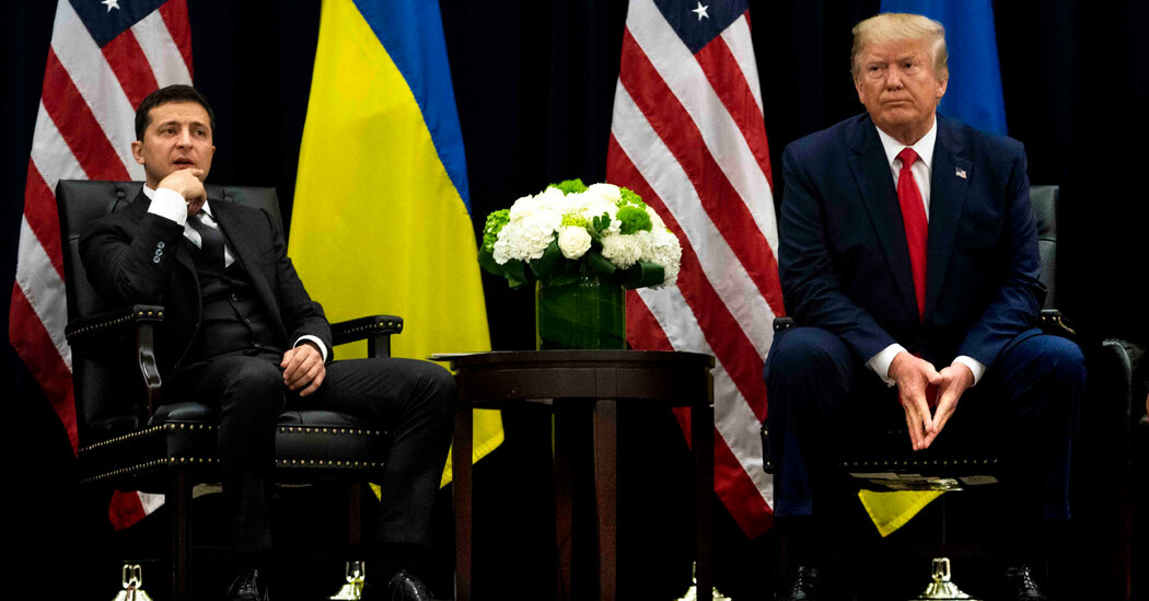 Officials Struggled With Trump's Ukraine Aid Freeze, Emails Show