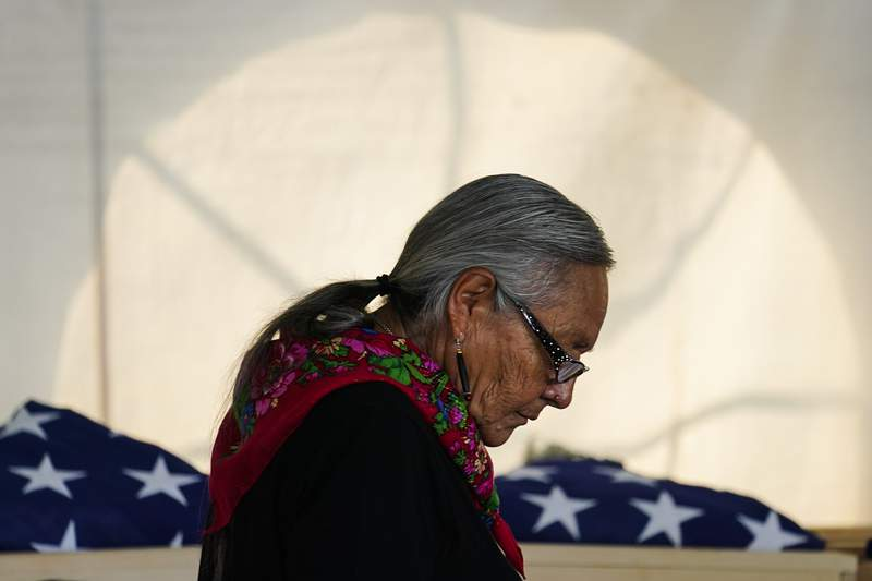 Tribe claims remains of kids who died at assimilation school