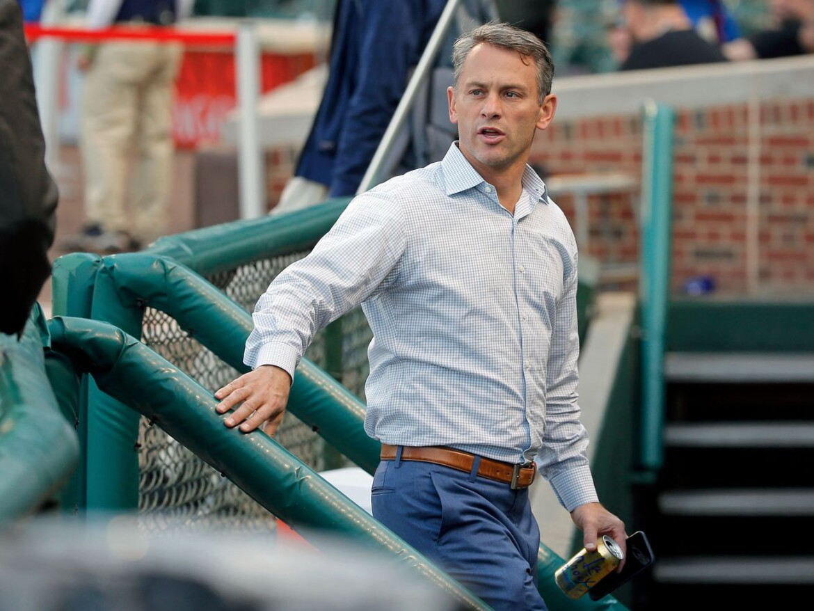 President Jed Hoyer, on Cubs' July:  'I think there's a sense of urgency'
