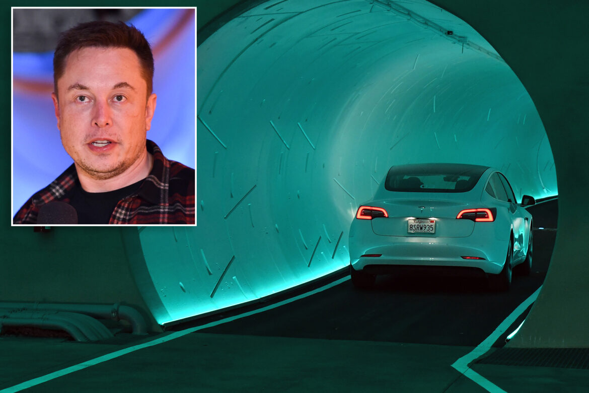 Drivers for Elon Musk's Boring Company are told not to talk about him