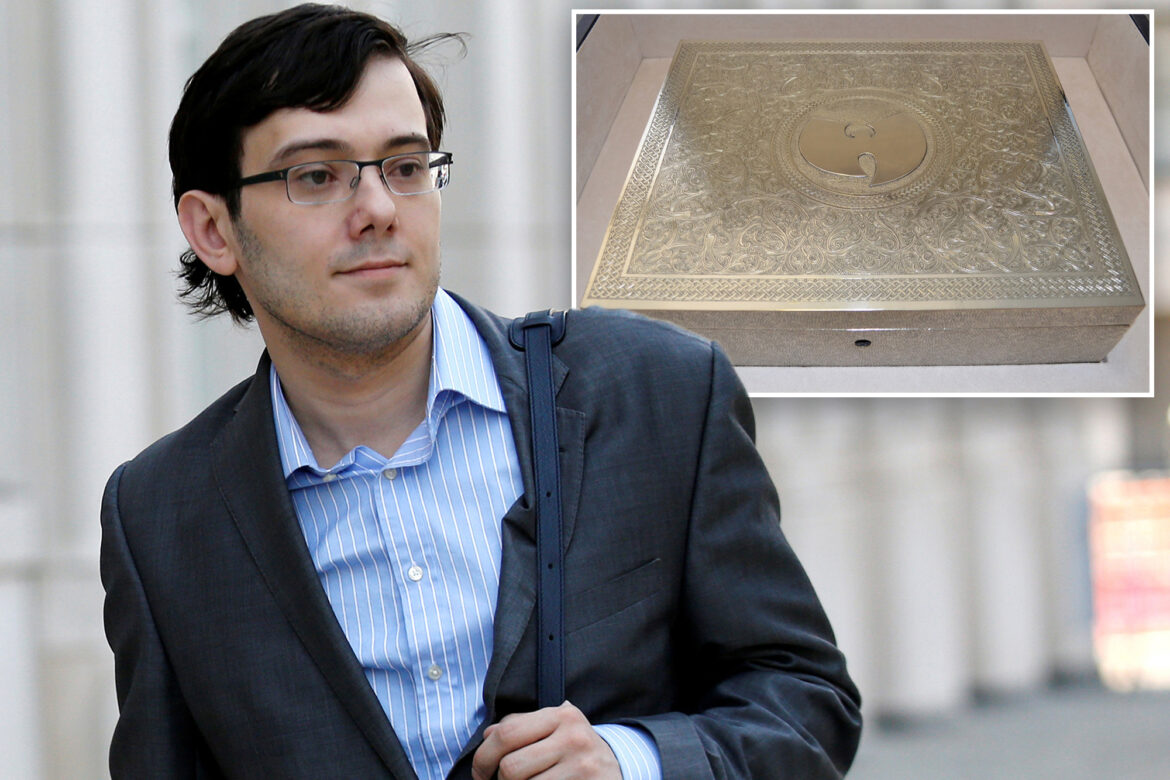 Martin Shkreli's Wu-Tang Clan album likely sold for just $2.2M: Sources