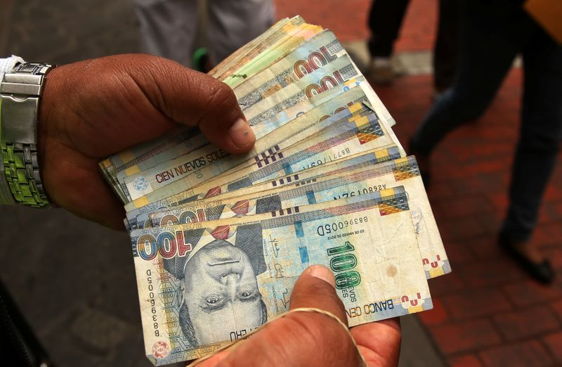 Peru currency hits record low, bonds fall on finance ministry vacuum