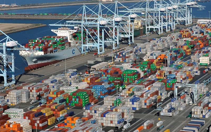 U.S. goods trade deficit widens on imports; inventories increase