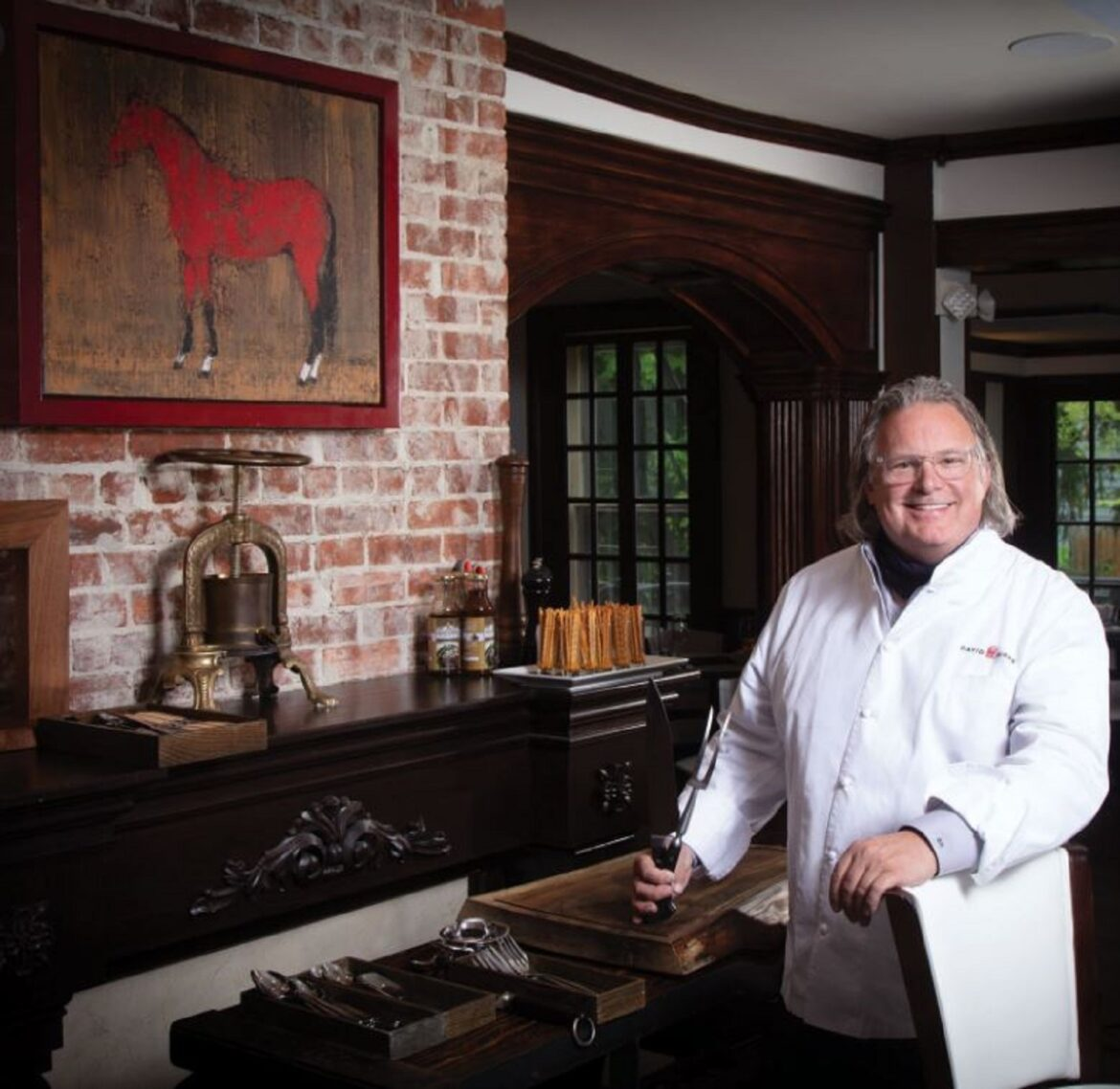 Why celeb chef David Burke hired his landscaper, housekeeper for kitchen gigs
