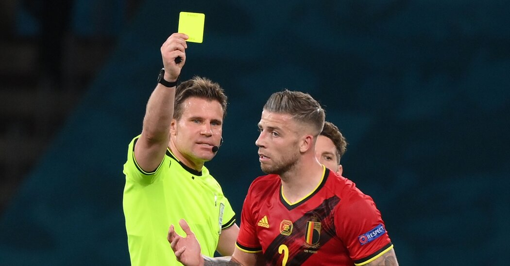 A German referee will be in charge of Italy vs. Spain.