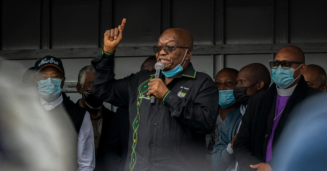 Former South African President Is Arrested