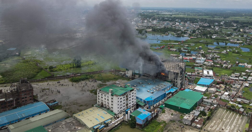 Dozens Die as Another Factory Fire Strikes Bangladesh