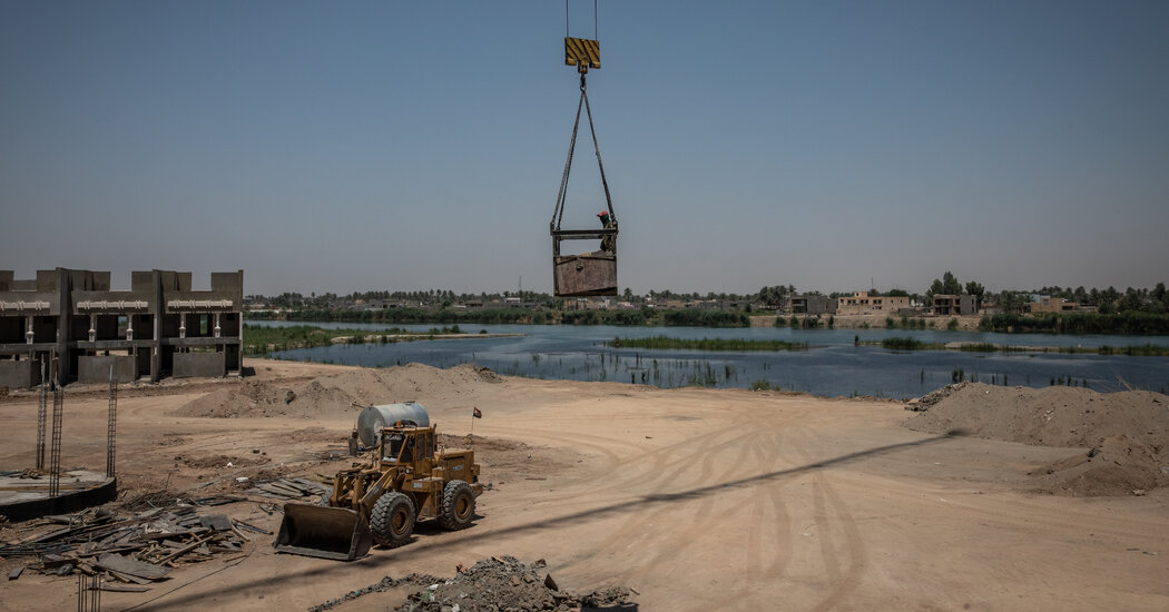 After Years as a Battleground, Investment Boom Lifts Iraqi City