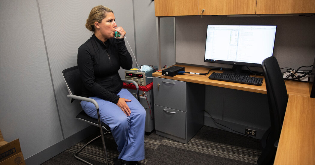 Breath-Based Coronavirus Tests Are Being Developed