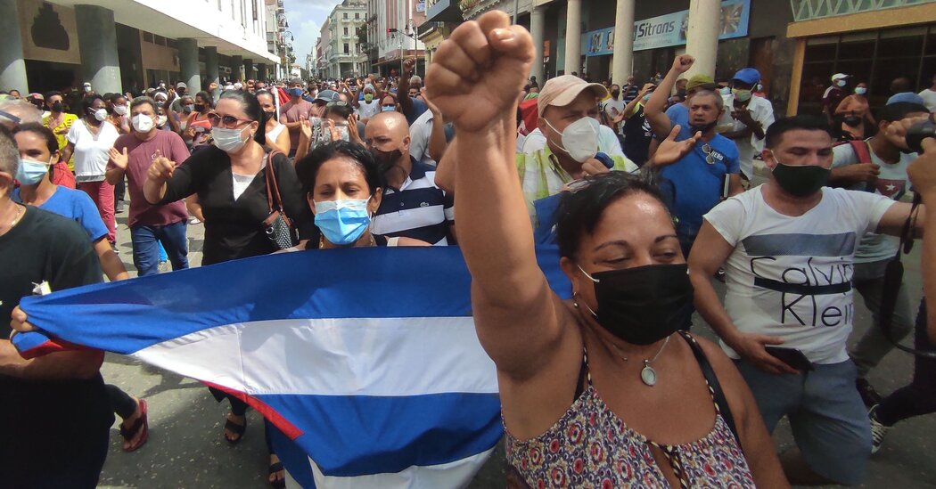 Biden Calls Cuba Protests 'Clarion Call for Freedom'