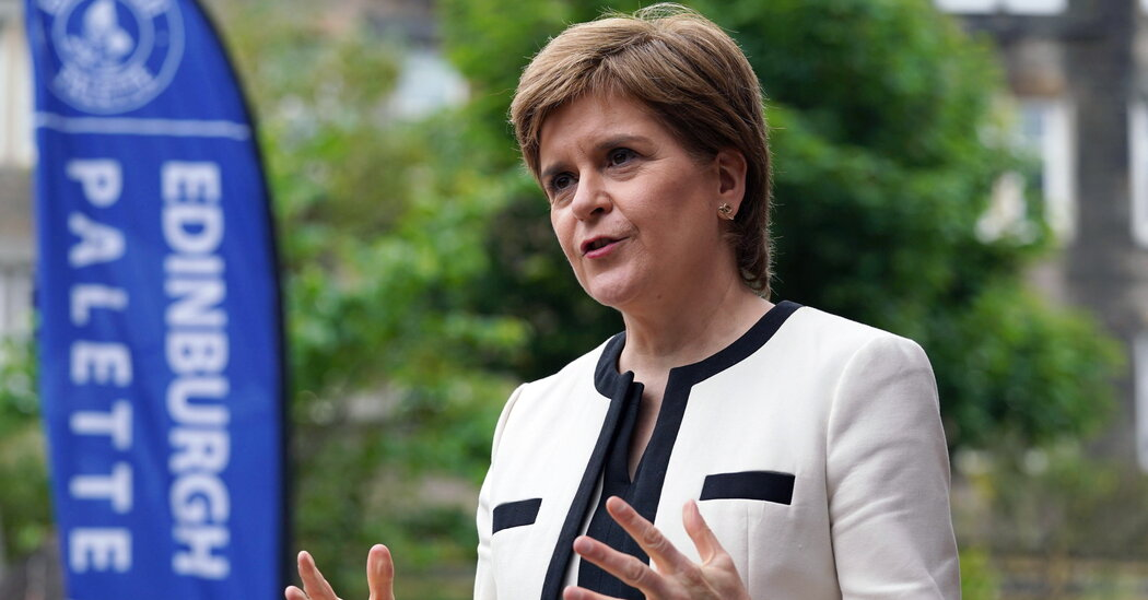 Scotland Cautiously Eases Virus Restrictions