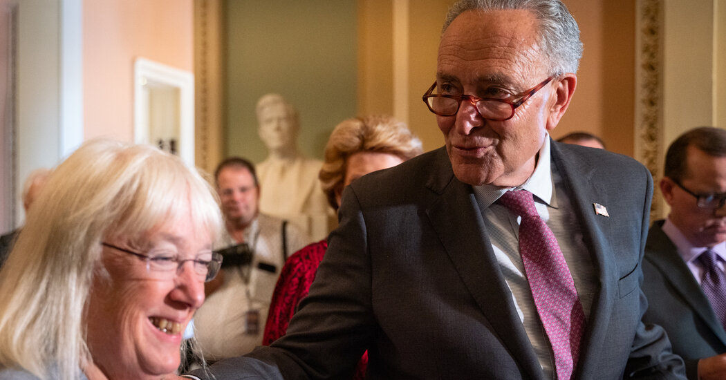 Democrats Propose $3.5 Trillion Budget to Advance With Infrastructure Deal