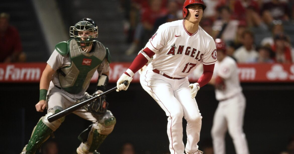 Angels fall back to .500 with 4-0 loss to Oakland