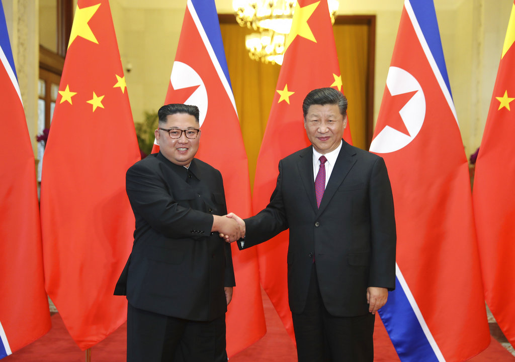 North Korea, China leaders vow greater cooperation in face of foreign hostility: report