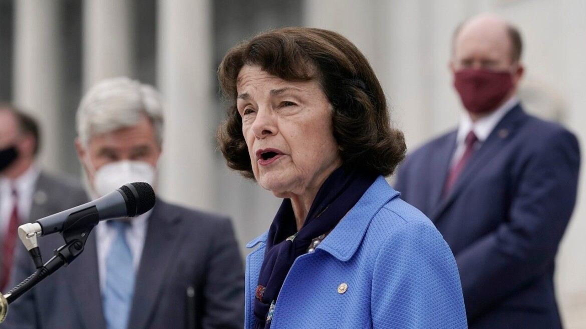Climate change activists threaten to camp outside Dianne Feinstein's office until their demands are met