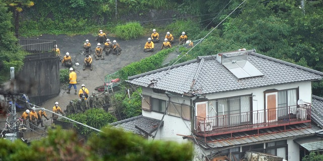 Deadly Japan mudslide: 1,000 involved in rescue operation in resort town