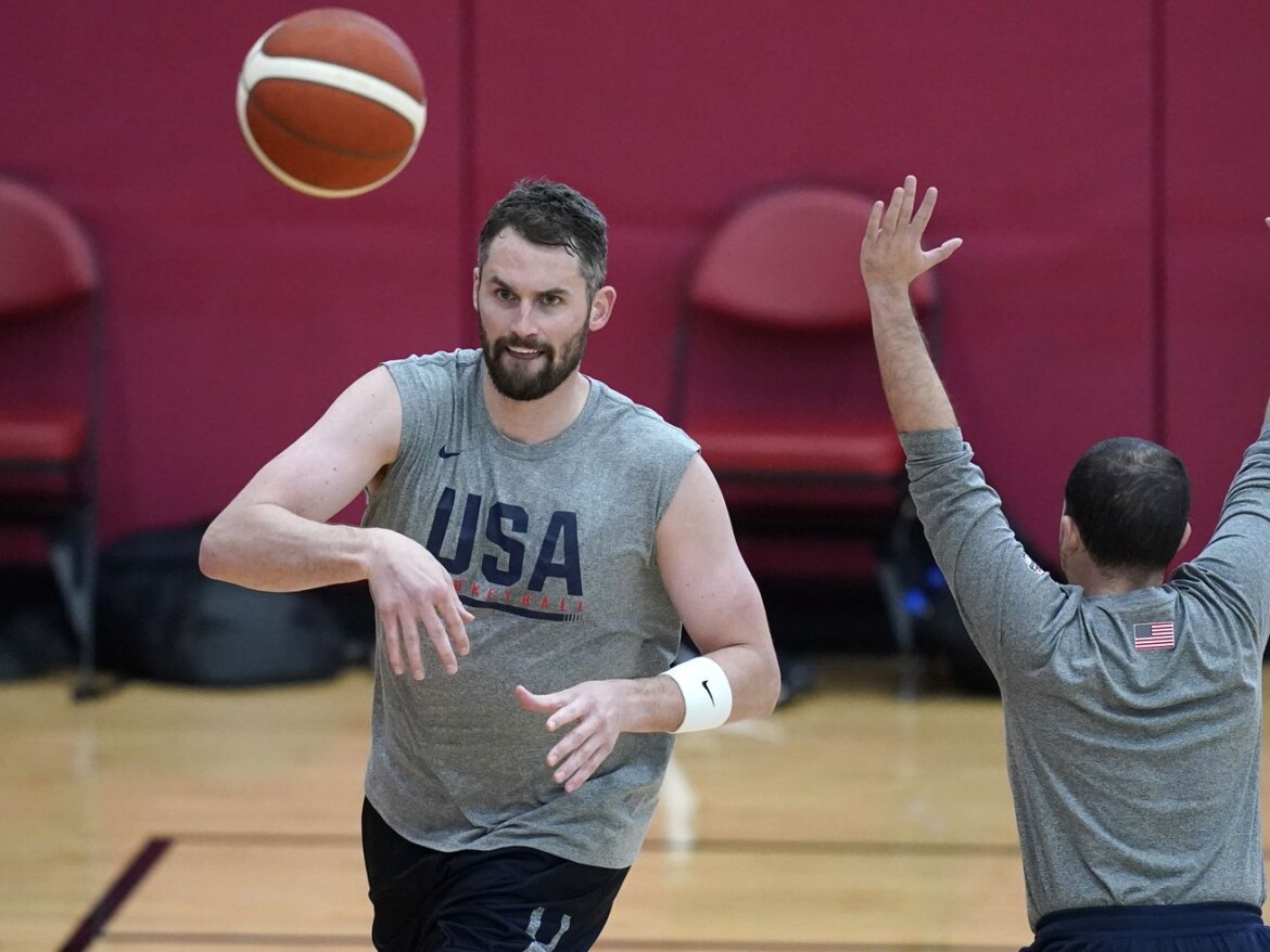 Calf injury forces Kevin Love to withdraw from Olympic basketball team; JaVale McGee added to roster