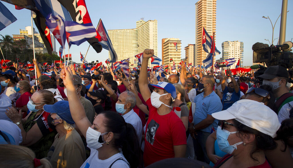 Biden may send more staff to US embassy in Havana to support Cuban people: senior administration official