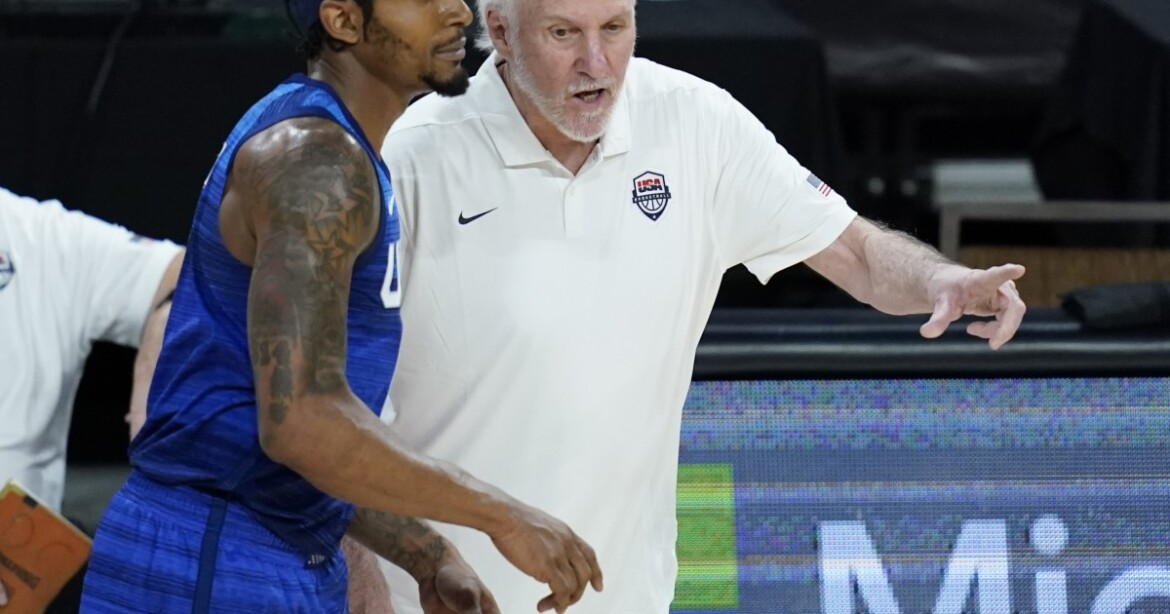 U.S. basketball bounces back, tops Argentina in pre-Tokyo tune-up
