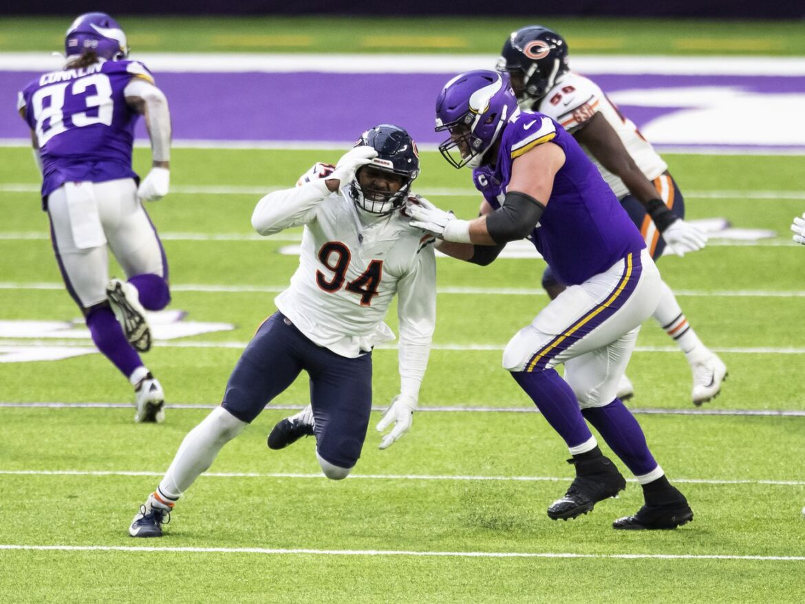 Bears can't afford another 'terrible' season from OLB Robert Quinn