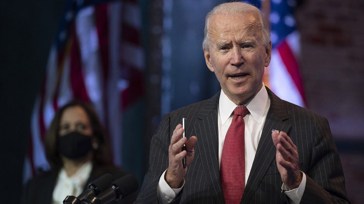 Biden alleges worker shortages are due to low wages