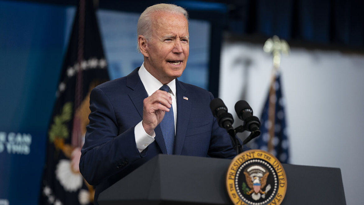 Biden says federal workers must be vaccinated or undergo regular testing, masks and social distancing