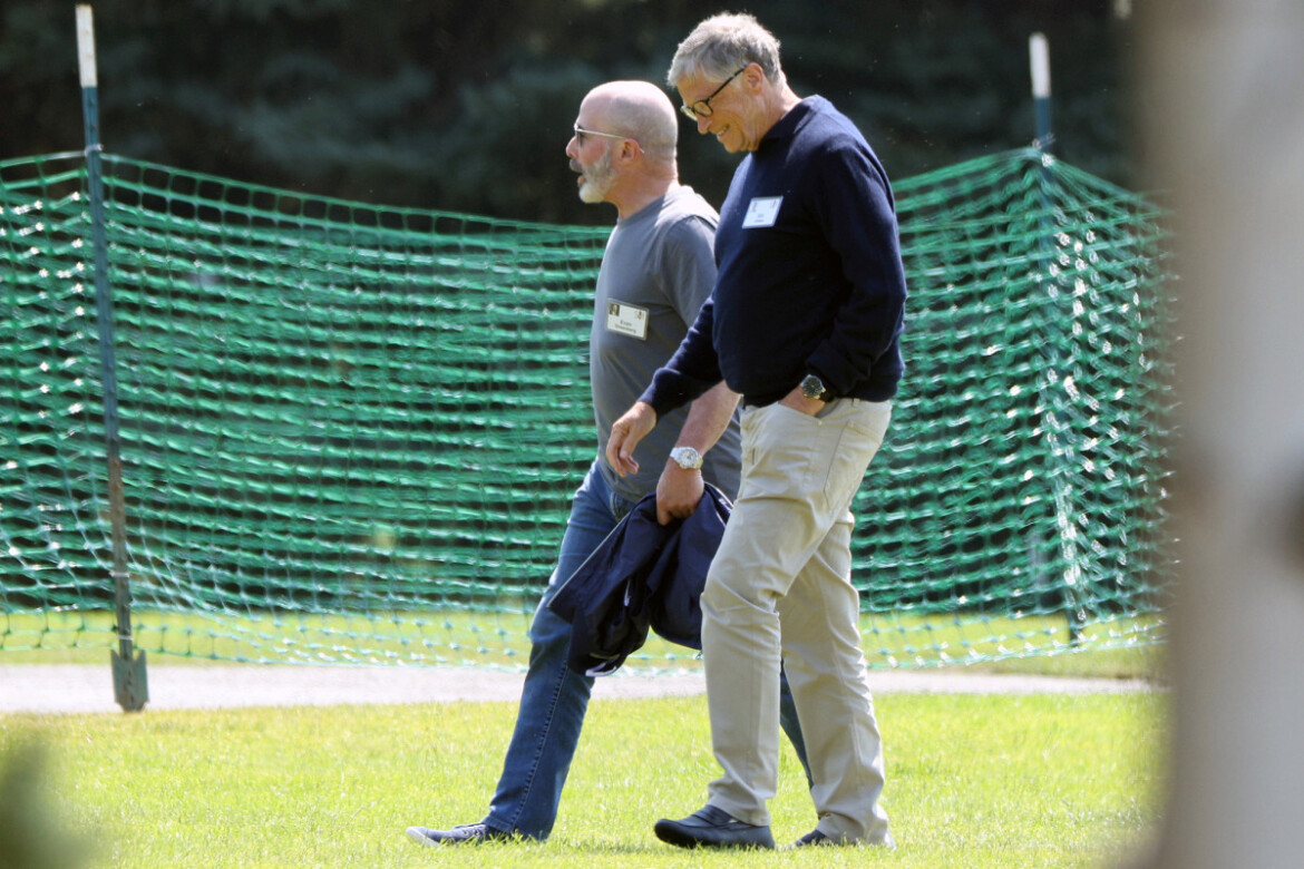 Scandal-ridden Bill Gates spotted at Sun Valley