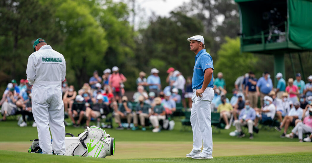 Bryson DeChambeau Drops Out of Men's Golf Tournament After Testing Positive for Covid-19