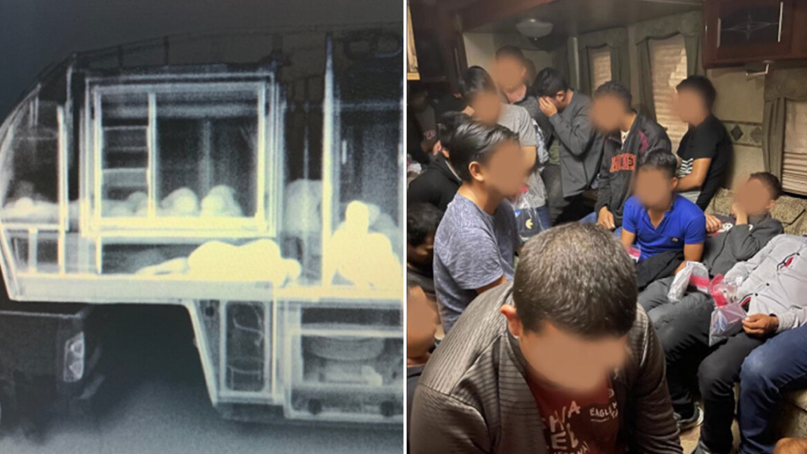 Border Patrol agents in Texas find 74 illegal immigrants smuggled in trailers