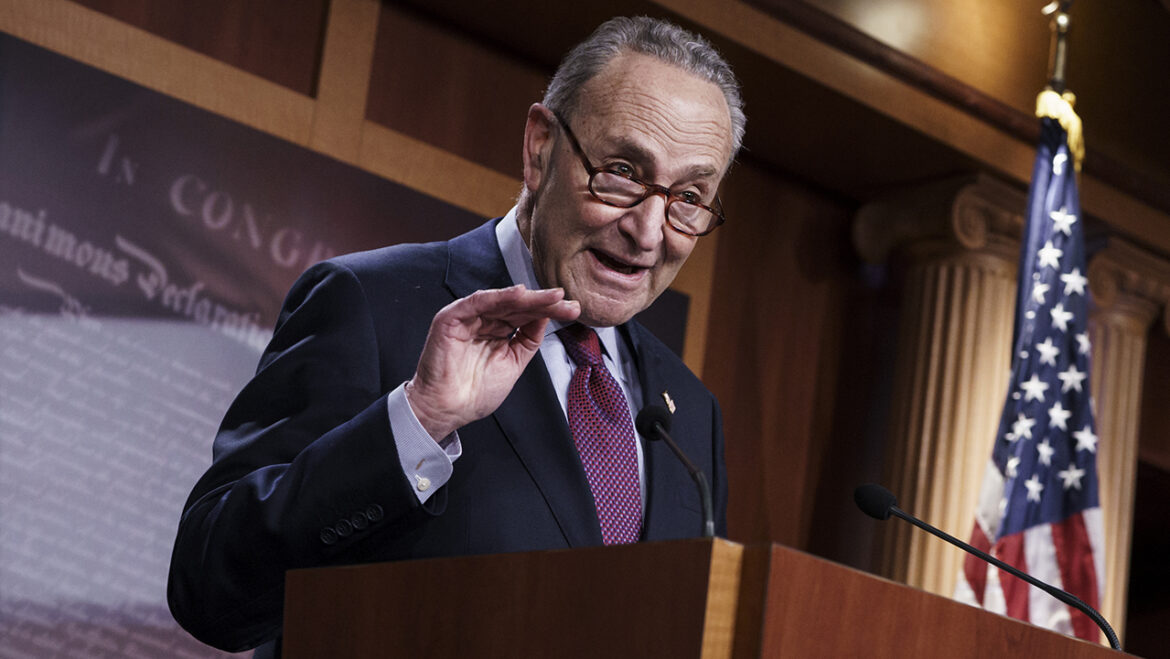 Climate crisis 'will be worse than COVID': Schumer