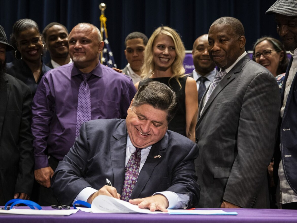 Pritzker signs ban on interrogators lying to minors, other criminal justice reforms intended to usher in 'new era of public safety'