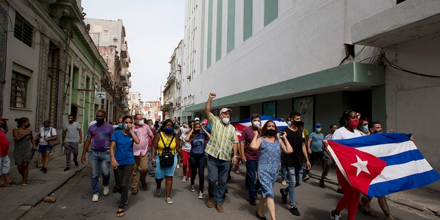 Sen. Cruz says US stands behind Cuban protesters, regime consigned to 'dustbin of history'